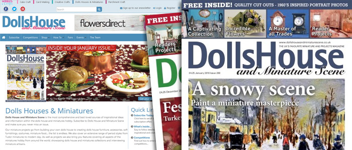 dolls house page headers