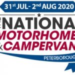 The National Motorhome & Campervan Show – 31st July – 2nd August 2020