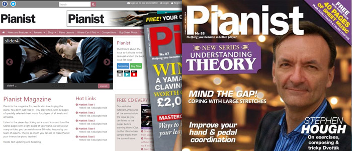 Pianist Magazine - Warners Group Publications Plc