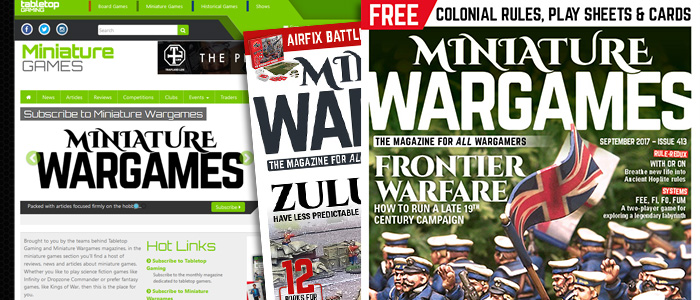 Miniature Wargames - Warners Group Publications Plc