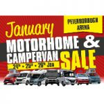 The January Motorhome & Campervan Sale, 24-26 January 2020